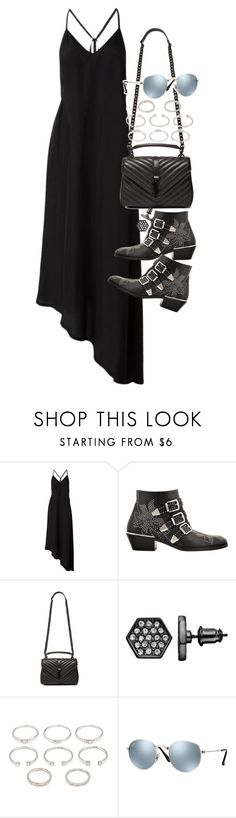 Untitled #19684 by florencia95 on Polyvore featuring Chloé, Yves Saint Laurent, Forever 21, Simply Vera and Ray-Ban