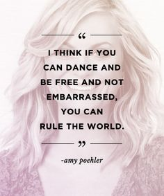 Quotes to build confidence: REPIN these words from Amy Poehler to inspire others!