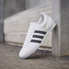 adidas Originals Bamba: White/Black