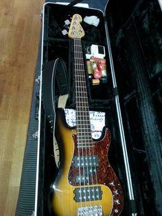 Sandberg HPH five string custom bass