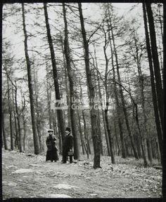 LS1990 - Edwardian couple, Bardon Hill