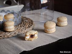 Mascarpone macarons and quince - Macarons de mascarpone y membrillo