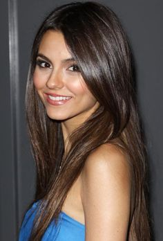 Many people don't know that Victoria Justice is half Puerto Rican.
