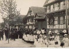 Procession de la Fête-Dieu à Geispolsheim, 1910 Gallica, BNUS