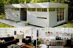 Luminhaus by Rocio Romero  Kit cost: approx. $24,000 in 2004  Turnkey cost: under $100,000, excluding land  Bedrooms: 2  Bathrooms: 1  Square Footage: 1,152      This Luminhaus, located in Virginia, costs under $100,000 to construct.  Photo: Luminhaus.com