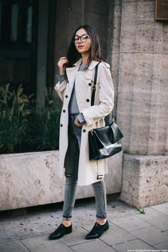 Classic trench coat obsession continues | 7 Hacks to Transition Your Wardrobe Into Spring