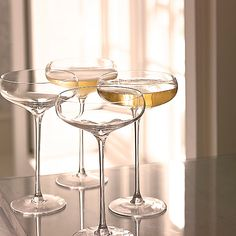 Champagne Saucers - so elegant!