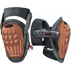 Hinged Gel Knee Pads from Duluth Trading Company are protective and comfortable, with knee-enveloping cushion and a firm yet flexing grip.