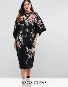 ASOS - Gorgeous Plus-Size Kimono Dress