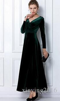 Women Party Dresses 2016 Spring Elegant Skinny Long Sleeve Deep V Club Party Long Dresses Villus Plus Sizes Pwy28 From Xinying2016, $35.61 | Dhgate.Com