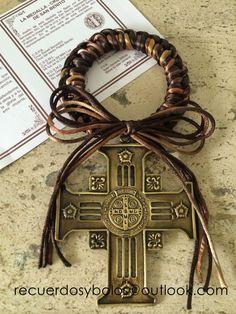Bendiciones para la puerta de la casa     como recuerdo de Bautizo y Primera Comunion      Llave del cielo de San Benit...