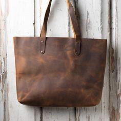 Simple Tote - Leather Tote Bag   Saddleback Leather Co.