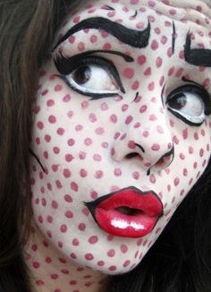 Pop Art makeup