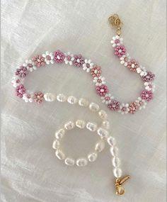 Cute Jewelry, Jewelry Crafts, Jewelry Accessories, Jewelry Ideas, Trendy Jewelry, Handmade Accessories, Jewelry Trends, Diy Necklace, Necklace Designs