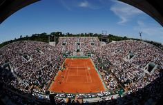 I'd love to watch at match at Roland Garros