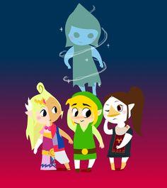 Zelda #TWW colors via 58hours