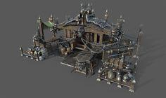ArtStation - Diablo 3 shop wagon, YEE DONG PARK