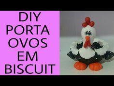 DIY- PORTA OVOS DA GALINHA EM BISCUIT- BY MARCIA BISCUIT