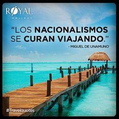 """#TravelQuotes """"Los nacionalismos se curan viajando."""" -Miguel de Unamuno"""