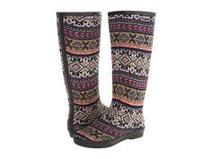 MUK LUKS Womens Aubrie Rain Boot Concord Grape - Boots