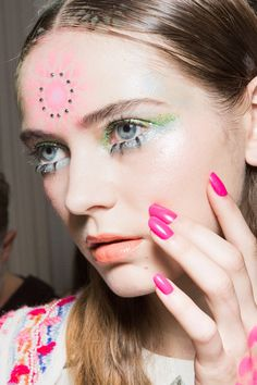 Manish Arora at Paris Fashion Week Spring 2018 - Backstage Runway Photos