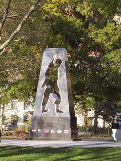Korean War Memorial, Battery Park, New York
