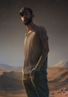 tumblr ||drawcrowd ||artstation || behance || facebook portrait of my brother for his birthday today. best wishes, bro! -- the background is inspired by (but maybe not closely based on)...