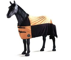 TOMARA Equestrian Polar Fleece Cooler (Caramel, 74-Inch) by Tomara. $60.98. Buckled front. Quick release clips in front. Elastic re-inforced leg straps. Premium 300g Polar Fleece. The TOMARA fleece horse coolers are made with high quality polar fleece and with thick triple stitched trim. The legs and breast straps are re-inforced at the ends, and the legs straps are made with a durable elastic strapping to help stop tearing. This sheet is ideal for making your horse l...