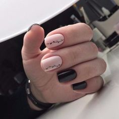 If you're a beginner, then this simple Nail Arts Ideas is for you. Here comes one of the easiest Nail Art Design ideas for beginners. Simple Nail Art yet stunningly beautiful that will get attention from others. Simple Nail Art Designs, Easy Nail Art, Trendy Nails, Cute Nails, Hair And Nails, My Nails, Nagellack Trends, Nails 2018, Manicure And Pedicure