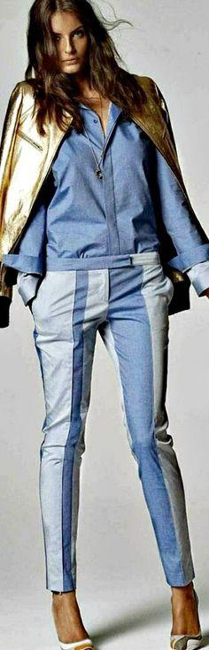 .colorblock pants #UNIQUE_WOMENS_FASHION