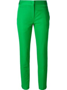 #fashion #style #look #moda #green #white #party #trousers