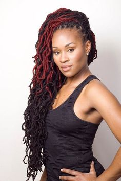 a loctician is probably in my future.  Maybe not super near future..  but future!  How pretty are her locs???
