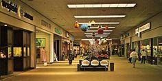 A nondescript mall of the 1970s.