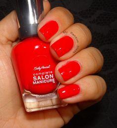 My Random Stash: Sally Hansen: Salon Complete Manicure in All Fired Up
