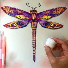 johanna basford dragonfly - Recherche Google