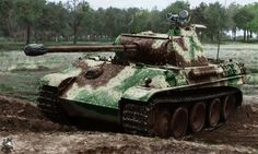 Panzerkampfwagen V Panther Ausf G with Sperber/FG 1250. Infrared Night-Vision Device