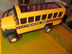 Yellow School Bus Vintage Toy Car Truck Vehicle 1981 Buddy L School Bus! Great vintage toy for the whole family! by FriendsRetro on Etsy