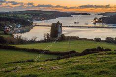 Reen Pier and Castle Haven Bay, West Cork, Ireland. www.MartinBakerPhotography.com
