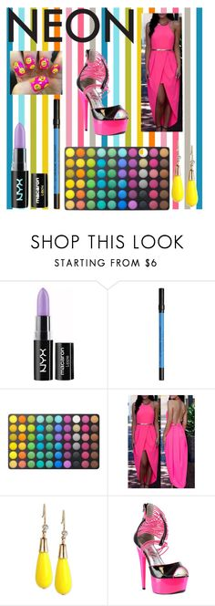 """Bright lights in the big city"" by timelesslife ❤ liked on Polyvore featuring beauty, NYX, Urban Decay, BHCosmetics, INC International Concepts and Ellie"