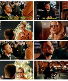 Arrow - Felicity & Oliver #4.9 #4.13 #Olicity <3