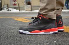 Air Jordan III Retro Bright Crimson