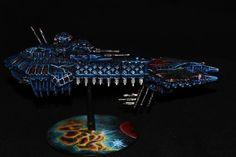 Chaos Battleship - Battlefleet Gothic