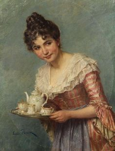 Painting by Emil Brack (1860-1905)
