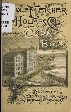 Holmes Company's Cook Book By Fletcher Sidle - (1885) - (archive)