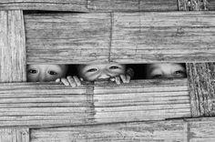Burmese children.