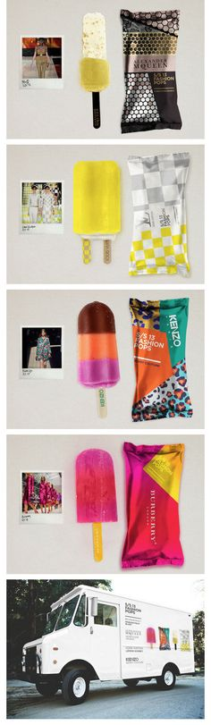 Fashion Popsicles | Design: Lara Atkinson