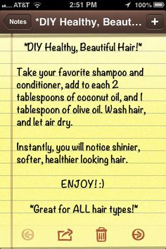 The Coconut Oil will also help stimulate hair growth!