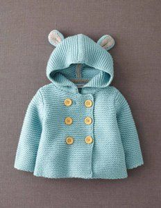 Adorable Knitted Jacket for Baby.