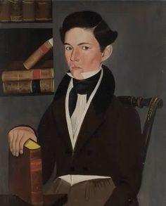 Portrait of a Man 1828   Museum of Fine Arts,Boston  Sheldon Peck
