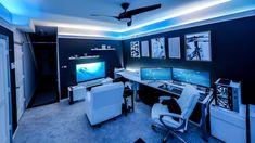 Best Gaming Setup, Gaming Room Setup, Computer Setup, Pc Setup, Desk Setup, Pc Desk, Tour Pc, Configuration Pc, Application Mobile